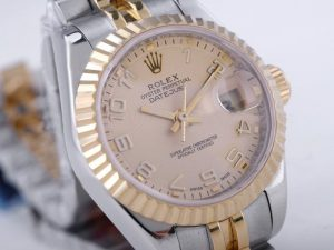 Rolex-Datejust-Swiss-ETA-2671-Golden-Dial-Number-Marking-Lady-Si-49_2